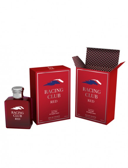 Mirage Brands 3.4 oz EDT - Racing Club Red (Version of Polo Red)