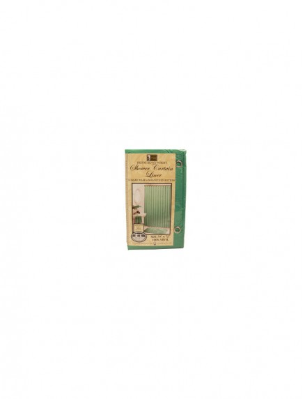Better Home Deluxe Heavy Weight Shower Curtain Liner 70 in x 72 in - Jade