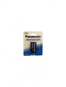 Panasonic 9 Volt 1 pk Battery