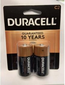 Duracell C Batteries 2 pk
