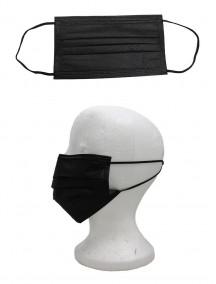 Disposable Face Masks 50 ct - Black