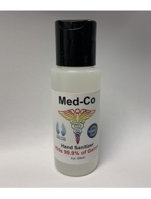 Med-Co Hand Sanitizer 2 oz