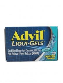 Advil Liqui-Gels 20 ct Liquid Filled Capsules