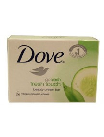 Dove Fresh Touch 135g Bar Soap
