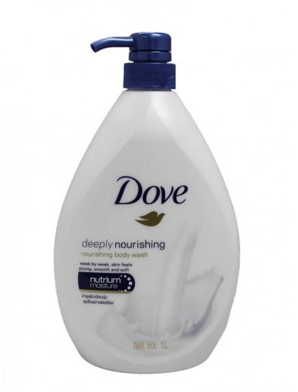 Dove 1 Liter Body Wash Pump - Deeply Nourishing