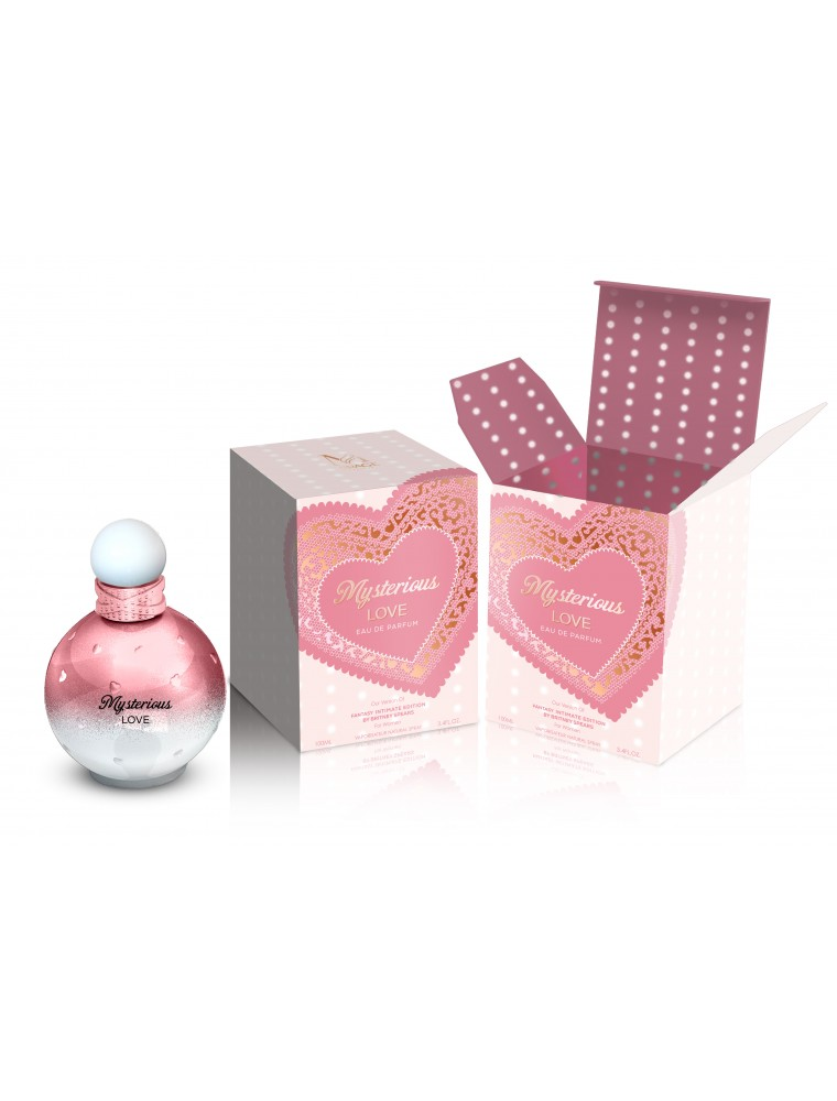 Mirage Brands 3.4 oz EDP Spray - Mysterious Love (Inspired by Fantasy  Intimate Edition by Britney Spears)