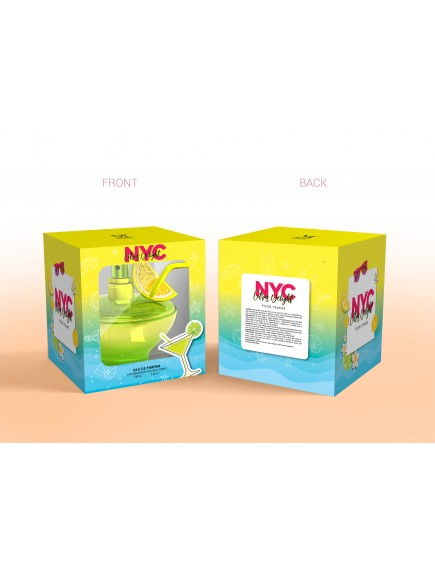Mirage Brands 3.4 oz EDP Spray - NYC Citrus Delight (Version of DKNY Be Delicious Pool Party Lime Mojito)