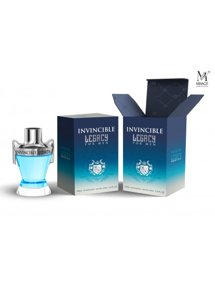Mirage Brands 3.4 oz EDT Spray - Invincible Legacy (Inspired by Invictus Legend by Paco Rabanne)