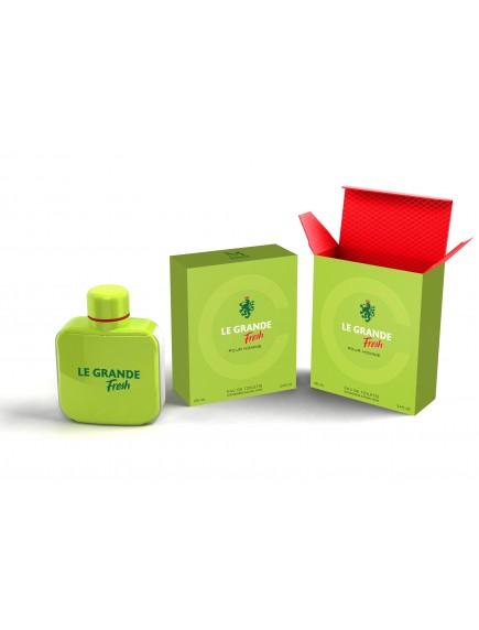 Mirage Brands 3.4 oz EDT Spray - Le Grande Fresh (Version of Lacoste Eau Fraiche)