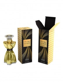 Mirage Brands 3.4 oz EDP Spray  - Paris Lights Gold (Inspired by Gold Rush by Paris Hilton)