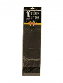 Gift Tissue Paper 10 Sheets - Black