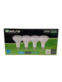 Maxlite LED Directional BR30 Lamp 8w/65w 4 pk