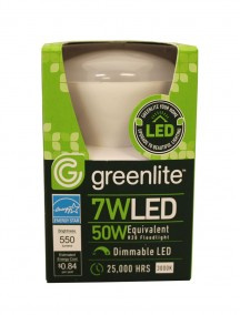 Greenlite LED R20 Floodlight Bulb 7w/50w 1 ct