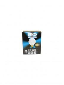 Eiko Round Clear Bulb - 60 watt