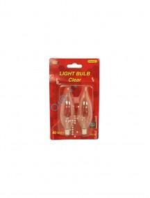 Light Bulb Clear 2pcs 40 Watts