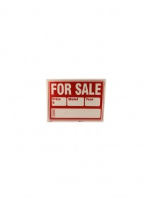 Car For Sale Sign- Large