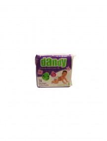 Dandy Baby Diapers 16 ct Size 5