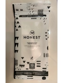 Honest Baby Wipes Plant Based 10 ct