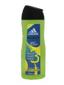 Adidas 13.5 fl oz 3 in 1 Shower Gel - Get Ready Fresh Energy