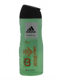 Adidas 13.5 fl oz 3 in 1 Shower Gel - Active Start