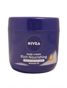 Nivea Body Cream 400 ml - Rich Nourishing Almond Oil
