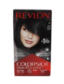 Revlon Colorsilk Permanent Hair Color - Soft Black 11
