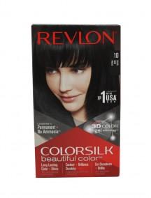 Revlon Colorsilk Permanent Hair Color - Black 10