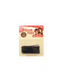 Hair Pins Black 60 ct 2 1/2""