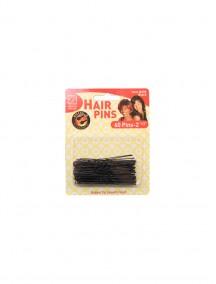"""Hair Pins Black 60 ct 2 1/2"""""""