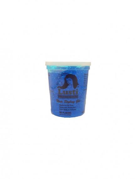 Lusti Hair Styling Gel No Flaking- Blue 32oz