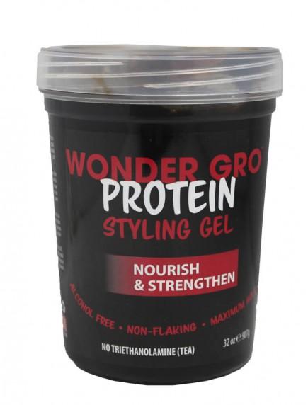 Wonder Gro Protein Styling Gel 32 oz