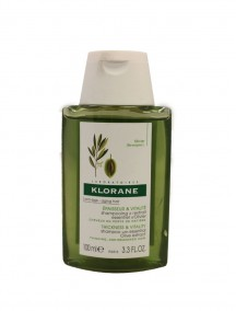 Klorane Shampoo with Essential Olive Extract 3.3 fl oz - For Thinning, Age-Weakened Hair