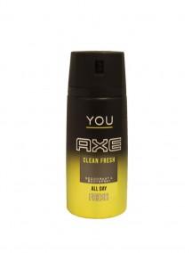 Axe Deodorant Body Spray 150 ml - Clean Fresh