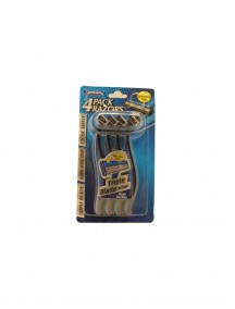 Xtra Care 4pk Razors For Men