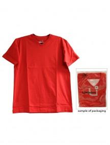 Urban 360 Short Sleeve V-Neck Shirt Size S - Red Color