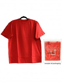 Urban 360 Short Sleeve Crew Neck Shirt Size 4XL - Red Color