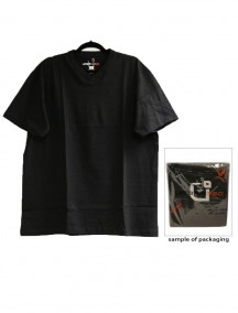 Urban 360 Short Sleeve V-Neck Shirt Size 1XL - Black Color