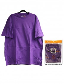 Urban 360 Short Sleeve Crew Neck Shirt Size 3XL - Purple Color