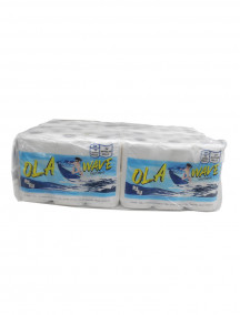 Ola Wave 2 Ply Toilet Paper 425 Sheets Per Roll 48 pk