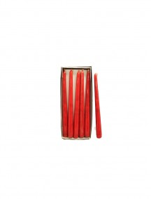 Holiday Classics 10 in Red Rouge Taper Candle