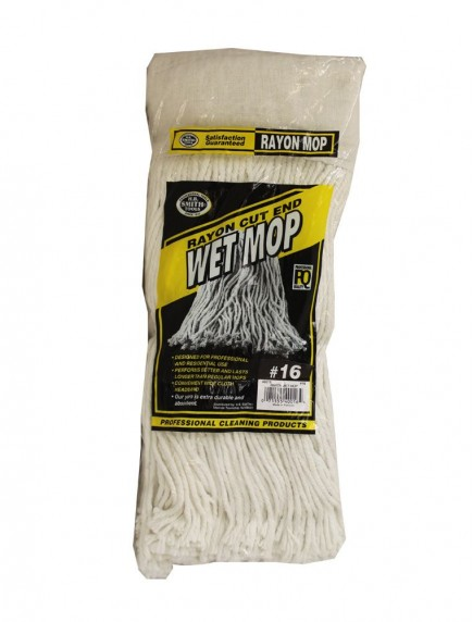 Rayon Wet Mop #16 - Mop Head Only