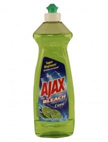 Ajax Dish Liquid 14 oz w/ Bleach Alternative- Lime