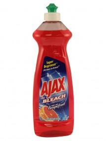 Ajax Dish Liquid 14 oz w/ Bleach Alternative- Grapefruit