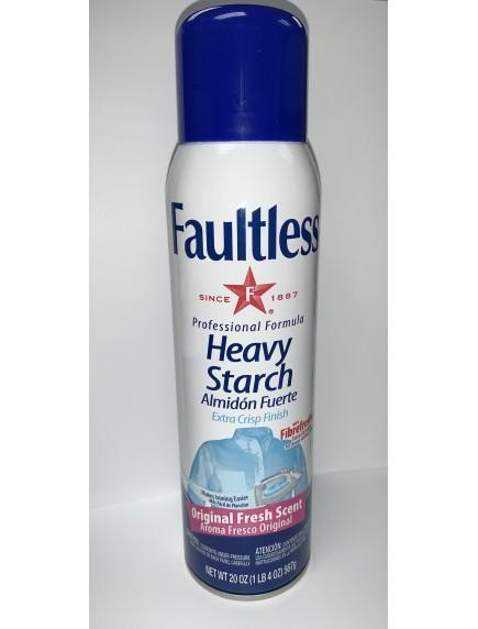Faultless Professional Formula Heavy Starch 20 oz - Original Fresh Scent