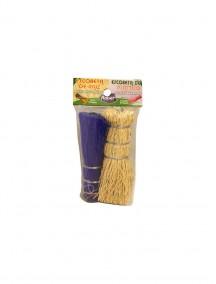 Plastic & Root Brush-Scrubber 2pk/Escobeta de Plastico y Raiz Mixta 2pk