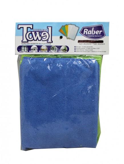Raber Microfiber Towel 2 pk