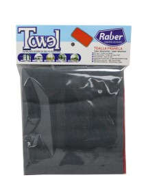 Raber Flannel Type Towel 2 pk