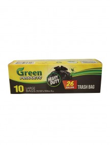 Green Products Trash Bags 10 ct - 26 Gallon