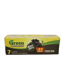 Green Products Trash Bags 7 ct - 33 Gallon