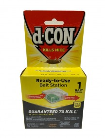 D-Con Mice Disposable  Bait Station 1 ct